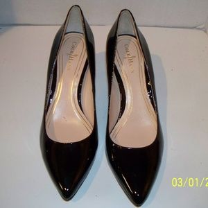 Cole Haan Black Patent Leather Pumps 5B